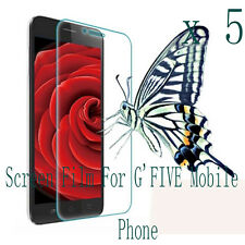 5 Clear Glossy Matte LCD Screen Protector Film Cover Skin F G'FIVE Mobile phone