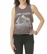 Pink Floyd T-Shirt Dark Side of the Moon Tour rock Girls Tank Tee S M L NWT