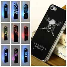 Fashionable LED Sense Flash light Hard Back Case Cover for iPhone 5/5S MC