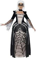 Ladies Halloween Fancy Party Dress Black Widow Spider Baroness Costume Outfit
