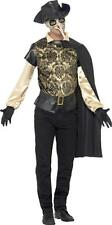 Mens Halloween Fancy Party Dress Assassin's Creed Plague Doctor Costume Outfit