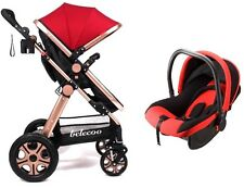 Baby Stroller & Baby Car Seat All Terrain 3-in-1 Travel System/Pushchairs/Prams