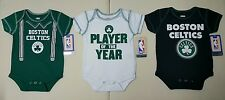 Boston Celtics NBA Boys Infant/Baby Pick Your Color 1pc Bodysuit/Onesie:0/3-3/6m
