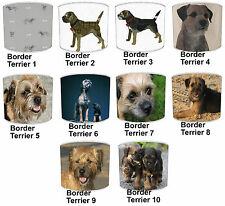 Border Terrier Dog Table Lamp Shades Or Ceiling Light Shades Lampshades Pendants