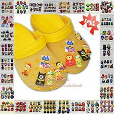 Hot mixed Shoe Accessories SHOE CHARMS Shoe Decoration Fit wristbands Kids gift