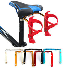 Bicycle MTB Bike Seat Post Back Double Water Bottle Holder Cage Rack Adapter HOT