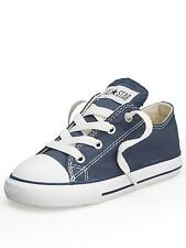 Converse Chuck Taylor Star Ox Navy White Infant Toddler Boy Girl Shoes Size 2-10