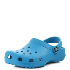 Kids Crocs Classic Ocean Blue Boys Girls Mule Clog Sandals Shu Size