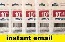 Latest Lowes 10% Off Coupons ~ Exp November 15, 2016 - Printable! INSTANT EMAIL