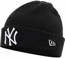 New Era Beanie NY Yankees Cowboys Giants Dodgers Leafs NFL NHL MLB Black Navy
