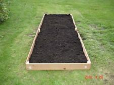 NEW 2X12 CEDAR RAISED PLANTER ELEVATED FLOWER BED GARDEN NEARLY 6 INCHES TALL