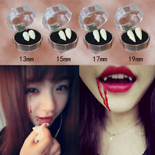 Bloodcurdling Vampire Werewolves Fangs Fake Dentures Teeth Costume Halloween Fk