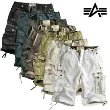 Alpha Industries Men's Bermuda Shorts Terminal Cargo trousers Cargo Shorts NEW