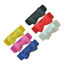 6 Colors Fashion Womens Bowknot Elastic Wide Stretch Buckle Waistband Waist Belt
