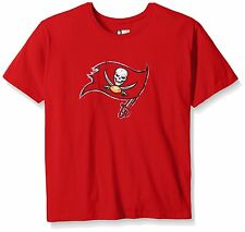 Tampa Bay Buccaneers NFL Women's Plus Size Short Sleeve Team Logo T-Shirts: XL