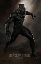 "Black Panther SuperHero Movie Silk Cloth Poster 20x13"" 28x18"" 36x24"" Decor 06"