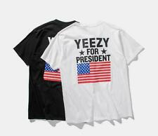 Kanye West Yeezus Top Yeezy for President T-Shirt -Jay Z Tee Adult Mens Costume
