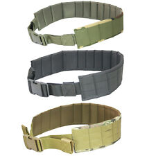 MOLLE Padded Patrol Belt Men sports Military Army canvas belt Camouflage