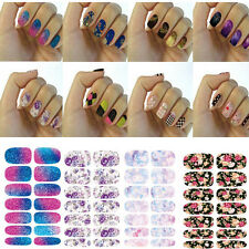Nail Art Water Transfer Wrap Stickers Polish Foil Decal DIY Tips Decoration new