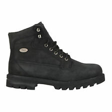 Lugz MBRIGHN-001 Men's Black Brigade HI Hiking Boots - New With Box