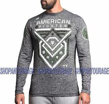 American Fighter Kendrick FM3239 Men`s Black L/S T-shirt By Affliction