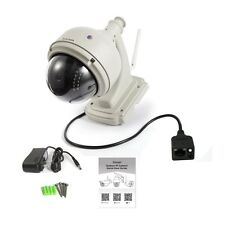 Wireless IP Camera Dome IR Night Vision WiFi IR-Cut Outside Security Cam MC
