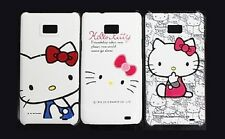 Cartoon Kitty Character Hard Back Case Cover for Samsung Galaxy S II i9100