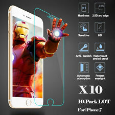 """NEW Wholesale Clear Tempered Glass Screen Protector No Bubbles 4.7"""" for iPhone 7"""