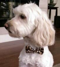 Doggie and Cat Adjustable Bow Ties with Bell - Variety of Colors and Styles