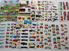 Mrs. Grossman sticker sheet You Choose - Vehicles Cars Planes