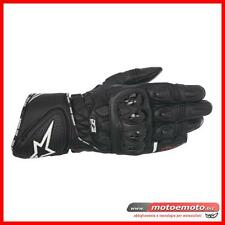 Motorcycle Soprt Gloves Alpinestars GP Plus R Protections black