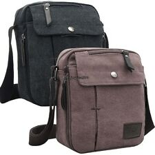 Mens Vintage Canvas Shoulder Messenger Travel Hiking Bag Satchel new 26yi OO55
