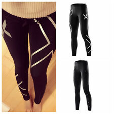 Newest Sports Women Compression Running Yogar Training Thermal GYM Tights Pants