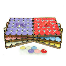 Tealight Flameless Candles Tea Lights Candle Wedding Party Decoration 50pcs/Pack