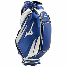 MIZUNO MENS ELITE TOUR STAFF BAG - NEW TROLLEY GOLF CART CARRY BAG 5 WAY DIVIDER