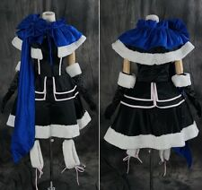 a-164 Size XL VOCALOID KAITO Girls Version XMAS Cosplay Set costume dress