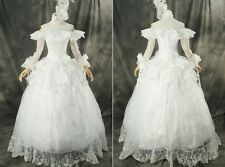 H-331 white Gothic Victorian Cosplay dress dress costume costume Made to Measure