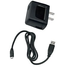 For VERIZON PHONES - OEM TRAVEL HOME WALL CHARGER AC ADAPTER WITH USB DATA CABLE