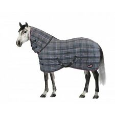 Masta - Quiltmasta 350g Check Fixed Neck Stable Rug - Heavyweight Stable Rug