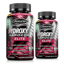 MuscleTech Hydroxycut Hardcore Elite (100 or 180 Capsules) Thermogenic Energy