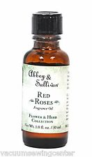 Abbey & Sullivan Red Roses Fragrance Oil Flower & Herb Collection