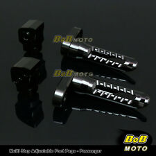 FOR Ducati Monster 696/796 2008-2013 Multi Step Adjustable Rear Foot Pegs