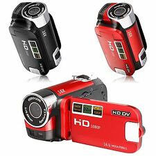Full HD 1080P 16MP Digital Video Camcorder DVR 2.7'' TFT LCD Camera DV 16x ZOOM