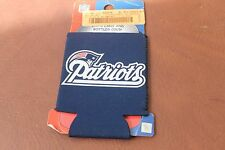 NFL New England Patriots Football Can Koozie Coozie Drink Holder Authentic