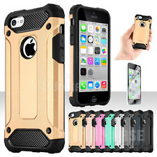 Hybrid Rubber Shock Dirt Dust Proof Silicone Case Cover For Apple iPhone 5C
