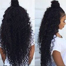 8A Wet And Wavy Curly Virgin Brazilian Human Hair Weave Bundle