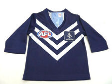 AFL FREMANTLE-DOCKERS BABY/TODDLERS FOOTY JUMPER/GUERNSEY - BRAND NEW