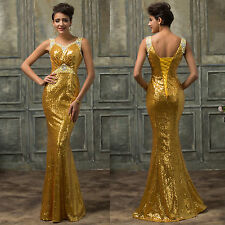 Luxury Sexy Deep V-neck Evening Dresses Beaded Sequined Mermaid Long Prom Gowns