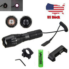 OSRAM 7W IR-940NM Night Vision Infrared LED Zoomable Flashlight Hunting Torch