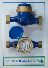 Water Meter 15mm - 50mm BSP  Rural Farm Irrigation Water Tank Fire Meter